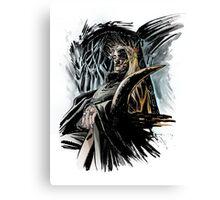 Elf King Canvas Print