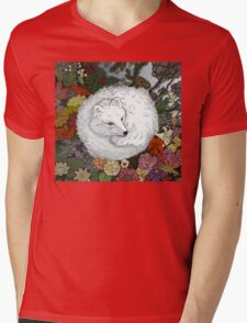 Arctic Fox Mens V-Neck T-Shirt
