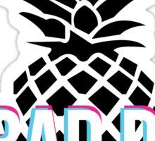 No Bad Days Pineapple Sticker
