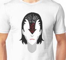 This way to the vampire Unisex T-Shirt