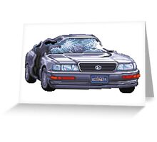 Street Fighter II Car Greeting Card