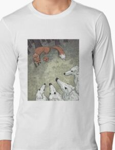 Fox Hunt Long Sleeve T-Shirt