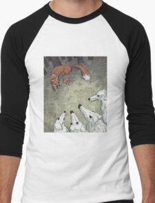 Fox Hunt Men's Baseball ¾ T-Shirt