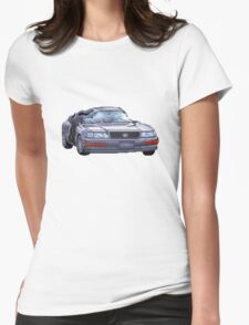 Street Fighter II Car Womens Fitted T-Shirt