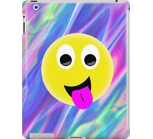 emoji hologram iPad Case/Skin