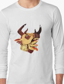 Mighty deer cover Long Sleeve T-Shirt