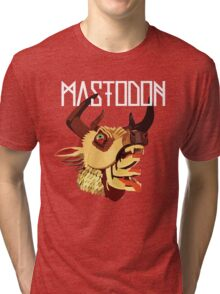 Mighty deer cover Tri-blend T-Shirt