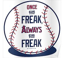 "Tim Lincecum ""The Freak"" Angels shirt Poster"