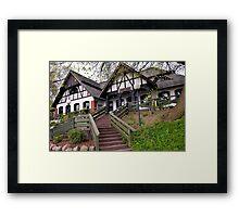 Polish Manor House Framed Print