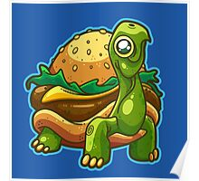 Turtle Burger Poster