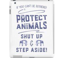 Protect Animals iPad Case/Skin