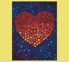 Healing Heart Art Sharon Cummings One Piece - Short Sleeve