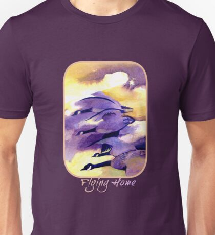 Flying Home - Canada Geese Unisex T-Shirt