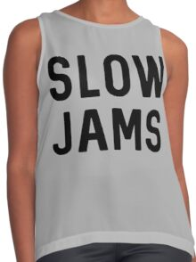 slow jams Contrast Tank