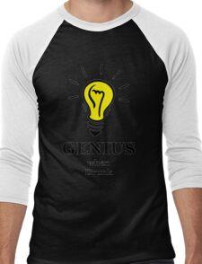 Genius! ...when drunk Men's Baseball ¾ T-Shirt