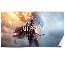 Battlefield 1 Artwork Poster