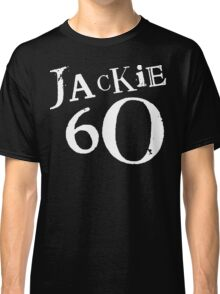 Jackie 60 Classic White Logo on Black Gear Classic T-Shirt