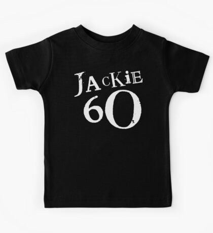 Jackie 60 Classic White Logo on Black Gear Kids Clothes