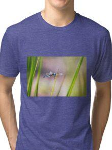 Dragonfly by Pond #1  Tri-blend T-Shirt