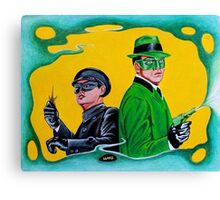 THE GREEN HORNET AND KATO Canvas Print