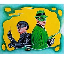 THE GREEN HORNET AND KATO Photographic Print