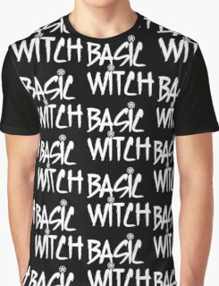 Basic Witch Graphic T-Shirt