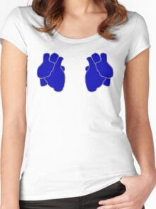 Cerulean Pride Women's Fitted Scoop T-Shirt
