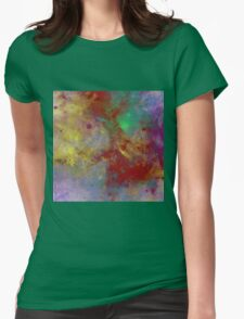 Through The Haze Of Colour Womens Fitted T-Shirt