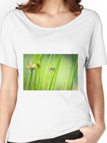 Dragonfly by Pond #2  Women's Relaxed Fit T-Shirt