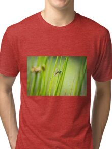 Dragonfly by Pond #2  Tri-blend T-Shirt