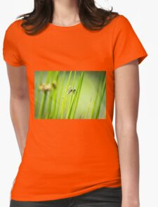 Dragonfly by Pond #2  Womens Fitted T-Shirt