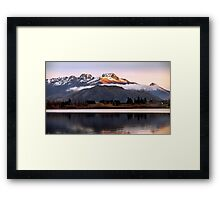 Lake Hayes - Queenstown - New Zealand Framed Print