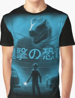 Attack on Dinosaur Graphic T-Shirt