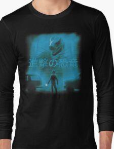 Attack on Dinosaur Long Sleeve T-Shirt
