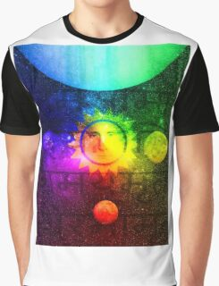 Putin Sun God Graphic T-Shirt