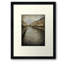 The Venice of the North Framed Print