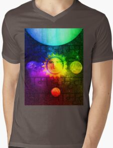 Putin Sun God Mens V-Neck T-Shirt