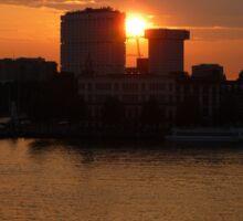 Urban Sunset Sticker