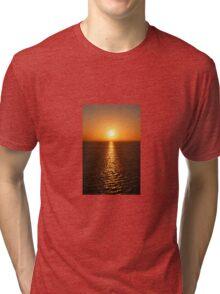 Ocean Sunset - iPhone Case Tri-blend T-Shirt