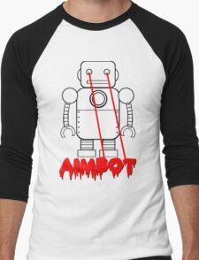 aimbot robot - personal request Men's Baseball ¾ T-Shirt