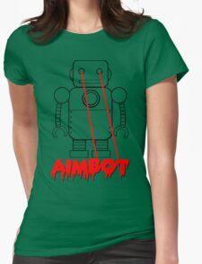 aimbot robot - personal request Womens Fitted T-Shirt