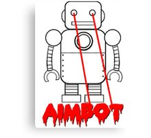 aimbot robot - personal request Canvas Print
