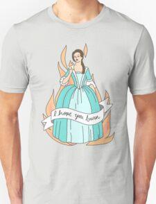 Eliza Hamilton schuyler sisters burn feminist print Unisex T-Shirt