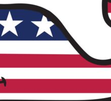 VV American Flag  Sticker