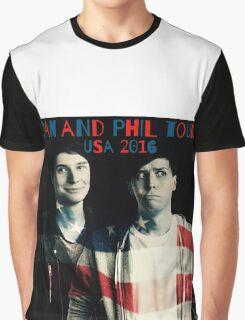 Dan and Phil USA Tour 2016 Graphic T-Shirt
