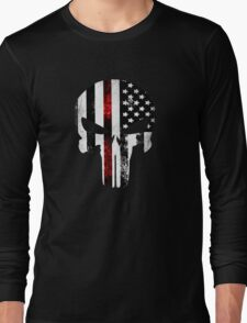 Punisher Red line 2016 Long Sleeve T-Shirt