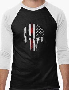 Punisher Red line 2016 Men's Baseball ¾ T-Shirt