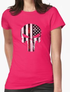 Punisher Red line 2016 Womens Fitted T-Shirt