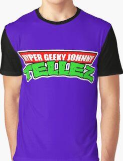 Hyper Geeky Johnny Tellez logo Graphic T-Shirt