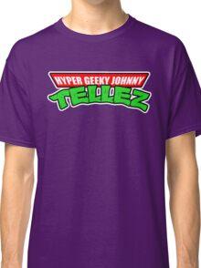 Hyper Geeky Johnny Tellez logo Classic T-Shirt